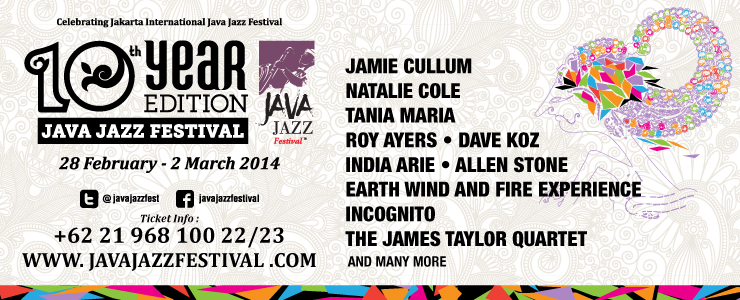 JAVA JAZZ FESTIVAL 28 Feb - 2 March 2014